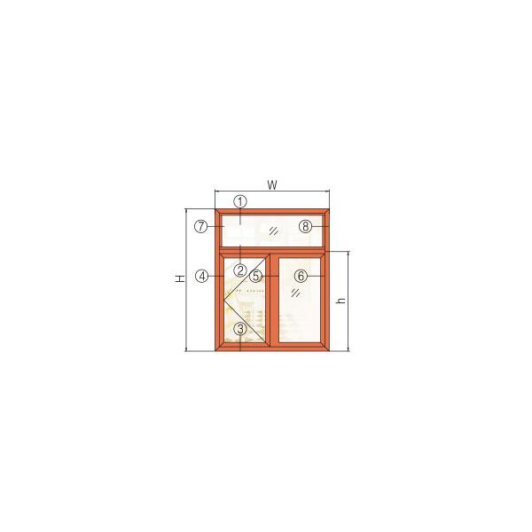 GR85W系列穿条隔热纱内窗外金刚网一体窗