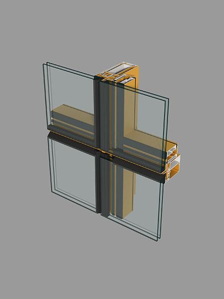 Y110A(65)系列隐框玻璃幕墙