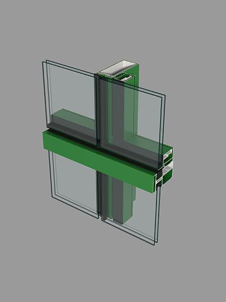 明框幕墙底座外盖板型材简图汇总