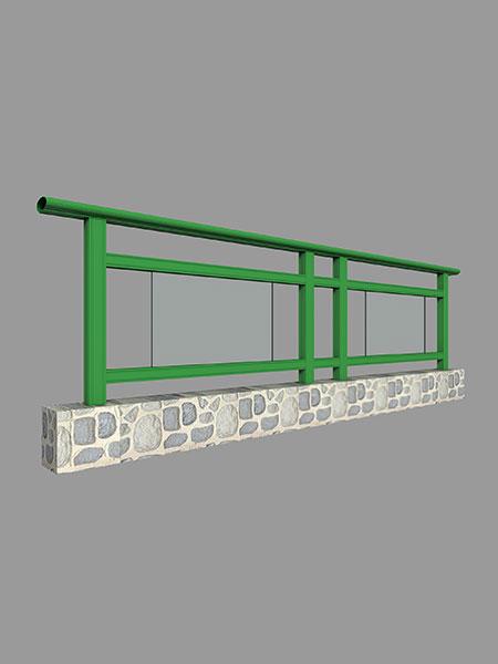阳台栏杆立柱型材简图汇总