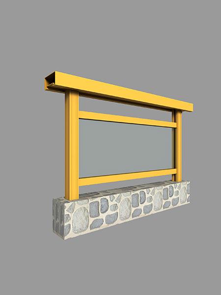 LG80D系列阳台栏杆